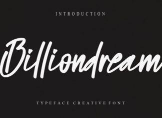 Billiondream Font
