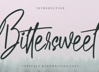 Bittersweet Font