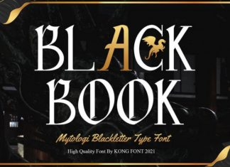Blackbook Blackletter Font
