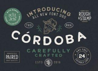Cordoba Display Font