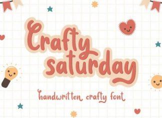 Crafty Saturday Display Font