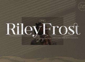 Riley Frost Serif Font