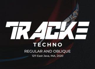 TRACKE Display Font