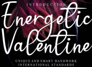 Energetic Valentine Font