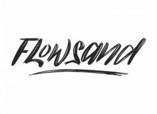 Flowsand Brush Font