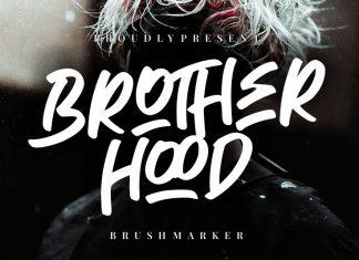 Brotherhood Brush Font