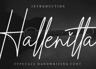 Hallenitta Font