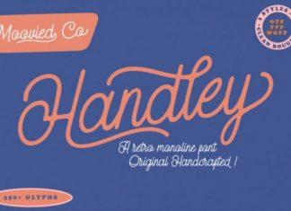 Handley Script Font