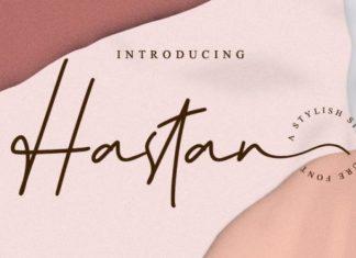 Hastan Handwritten Font