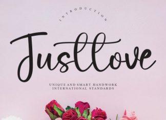 Justlove Font