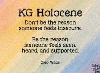 KG Holocene Display Font