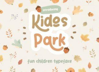Kidos Park Display Font