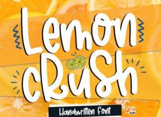 Lemon Crush Font