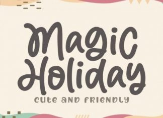 Magic Holiday Handwritten Font