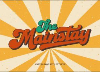 Mainstay Script Font
