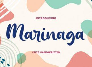 Marinaga Script Font
