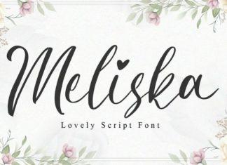 Meliska Calligraphy Font