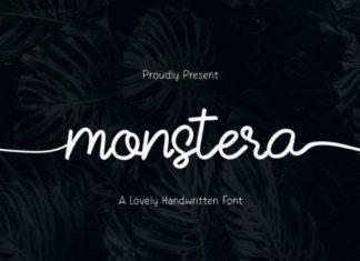 Monstera Script Font