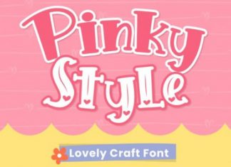 Pinky Style Display Font