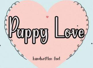 Puppy Love Display Font