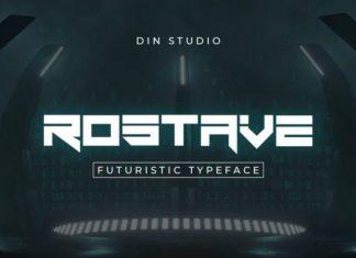 Rostave Display Font