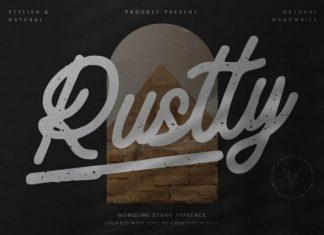 Rustty Script Font