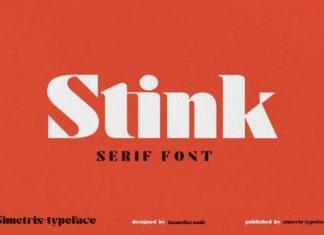 Stink Sans Serif Font