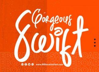 Swift Gorgeous Script Font