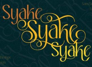 Syake Sans Serif Font