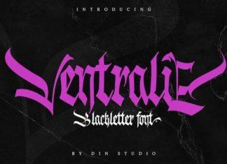 Ventralie Blackletter Font