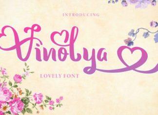 Vinolya Script Font