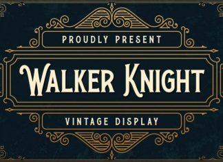 Walker Knight Display Font