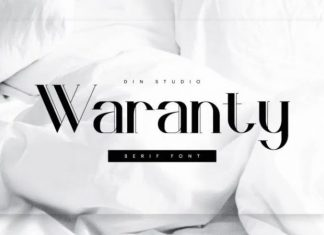 Waranty Serif Font