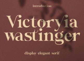 Wastinger Font