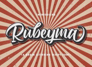 Rubeyma Script Font