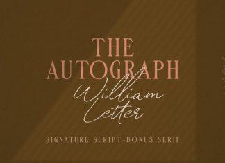 William Letter Handwritten Font