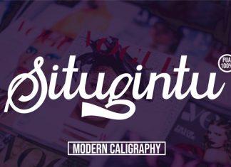 Situgintu Script Font