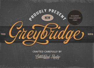 Greybridge Calligraphy Font