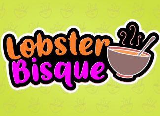 Lobster Bisque Brush Font