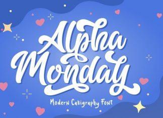 Alpha Monday Font