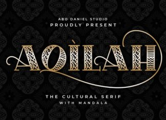 Aqilah Display Font
