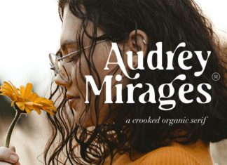 Audrey Mirages Serif Font