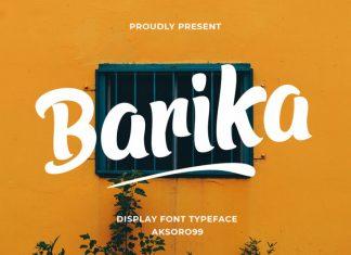 Barika Display Font