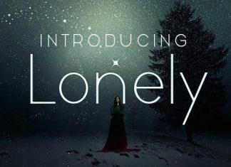 Lonely Sans Serif Font