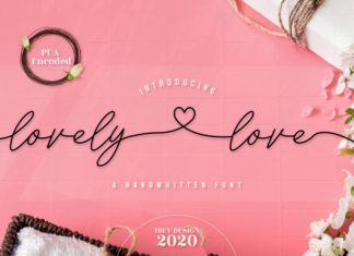 Lovely Love Script Font