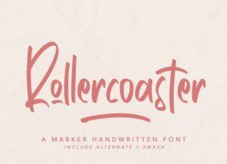 Rollercoaster Script Font