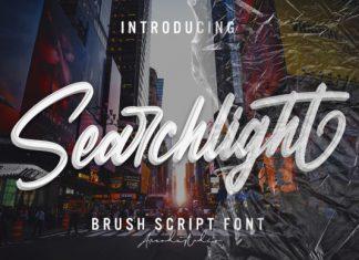 Searchlight Script Font