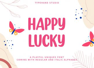 Happy Lucky Display Font