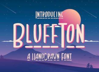 Bluffton Display Font