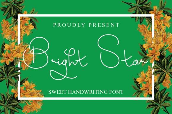 Bright Star Handwritten Font